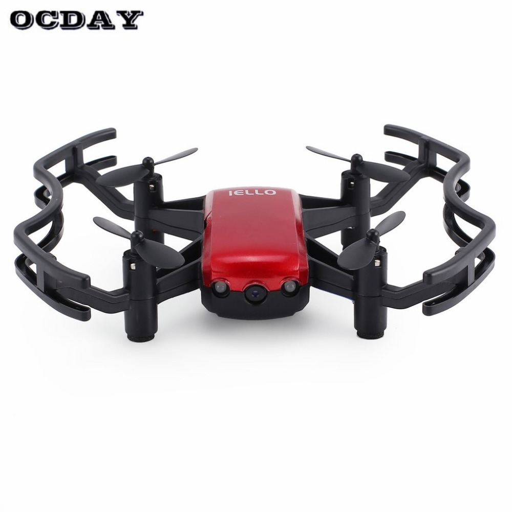 F21w Mini Pocket Fpv Rc Quadcopter Drone Met 0.3mp/720 P Wifi Camera Real-time Hoogte Houden Headless Modus Een Sleutel Terugkeer Fz
