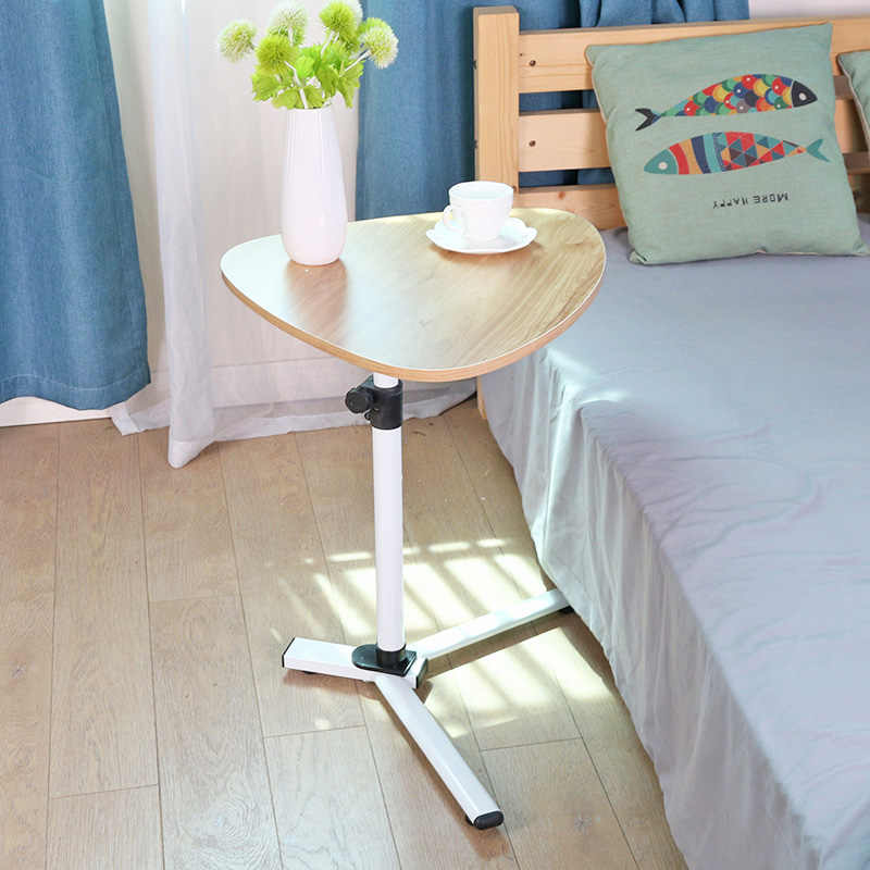 Mobile Coffee Table.Simple Laptop Desk Lazy Lift Desk Mobile Folding Bed Coffee Table Sofa Side Table Coffee Table Desk Laptop Table Side Table
