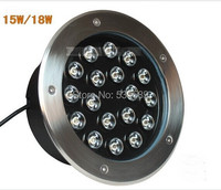15W LED Underground Lamps Buried Lighting LED Project Lamps AC85V 265V LED Outdoor Lamps IP65 High