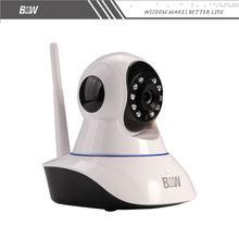 Беспроводной Wi-Fi ВИДЕОНАБЛЮДЕНИЯ Система Видеонаблюдения Безопасности 1080*720 P HD 360 Градусов Мониторинга Сигнализации Системы Видеонаблюдения HD BW02S