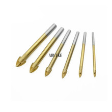 Bits Tile Drill 6-12 mm Ceramic  Triangle Drilling Concrete Tool Power Accessories Woodworking s