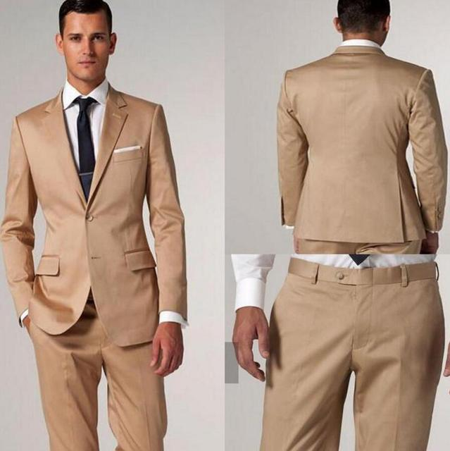 Golden Brown Suit | My Dress Tip