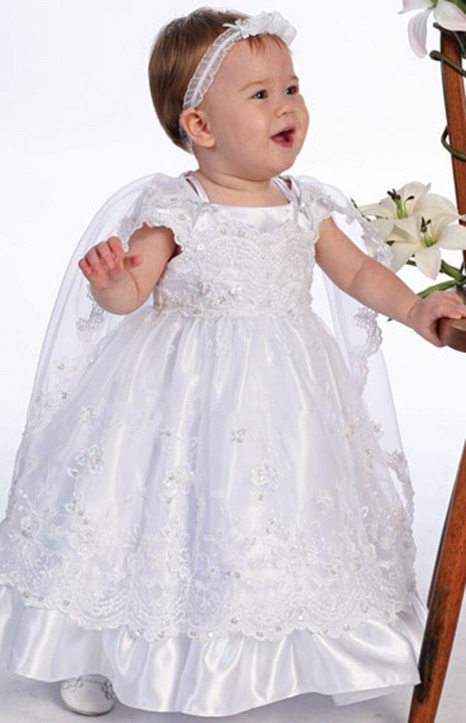 2016 Graceful Baby Infant Christening Dress Boys Girls Baptism Gown ...