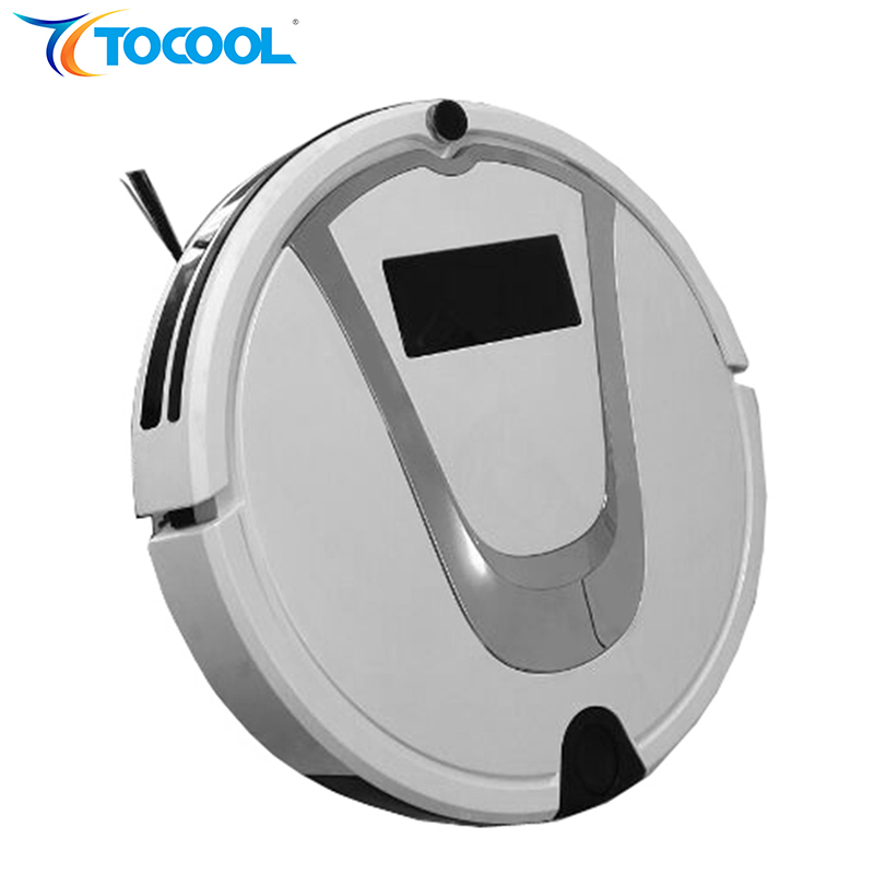TOCOOL TC-750 Smart Vacuum Cleaner Robot Super Suction Sweeping Mopping Self Charging Robot Vacuum Cleaner Home Cleaning Machine