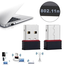 Mini Wireless Card Ralink RT5370 150Mbps Wireless LAN Adapter Networking Card 802.11 b/g/n 2.4GHz