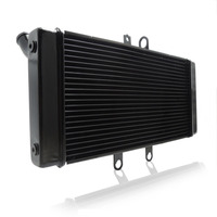 GSF1250S Motorcycle Radiator Cooler Cooling for Suzuki Bandit GSF1250S 2007 2013 BANDIT 2008 2009 GSX 650F for KATANA GSX650F