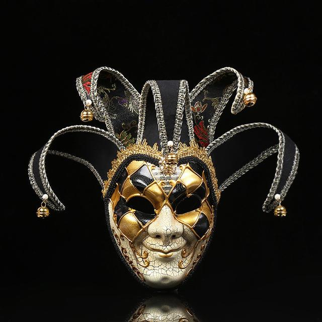Women's Masquerade Full Face Mask