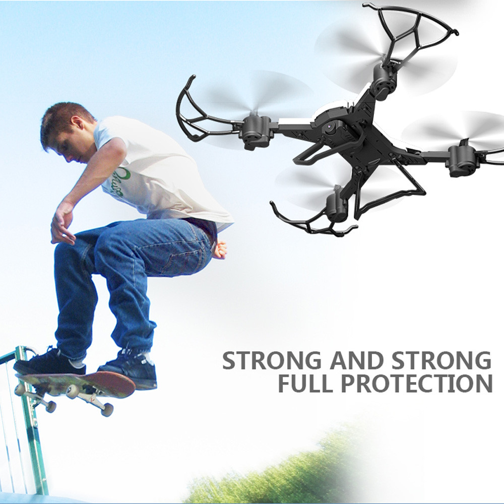601S 1080P 5MP Quadcopter With Camera Foldable WIFI FPV Drone 20Min Flying 6-axis 4CH RC Helicopter Selfie Drones With Camera HD 11