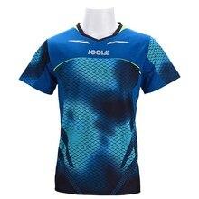Настоящая одежда для настольного тенниса Joola для мужчин и женщин, футболка с коротким рукавом, футболка для пинг-понга, Джерси, спортивные майки 771