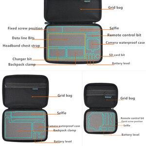 Image 4 - المحمولة حمل حقيبة التخزين صندوق واقية 3 حجم حقيبة يد ل GoPro بطل 8 7 6 5 4 3 شاومي يي Sjcam اكسسوارات حقيبة كاميرا