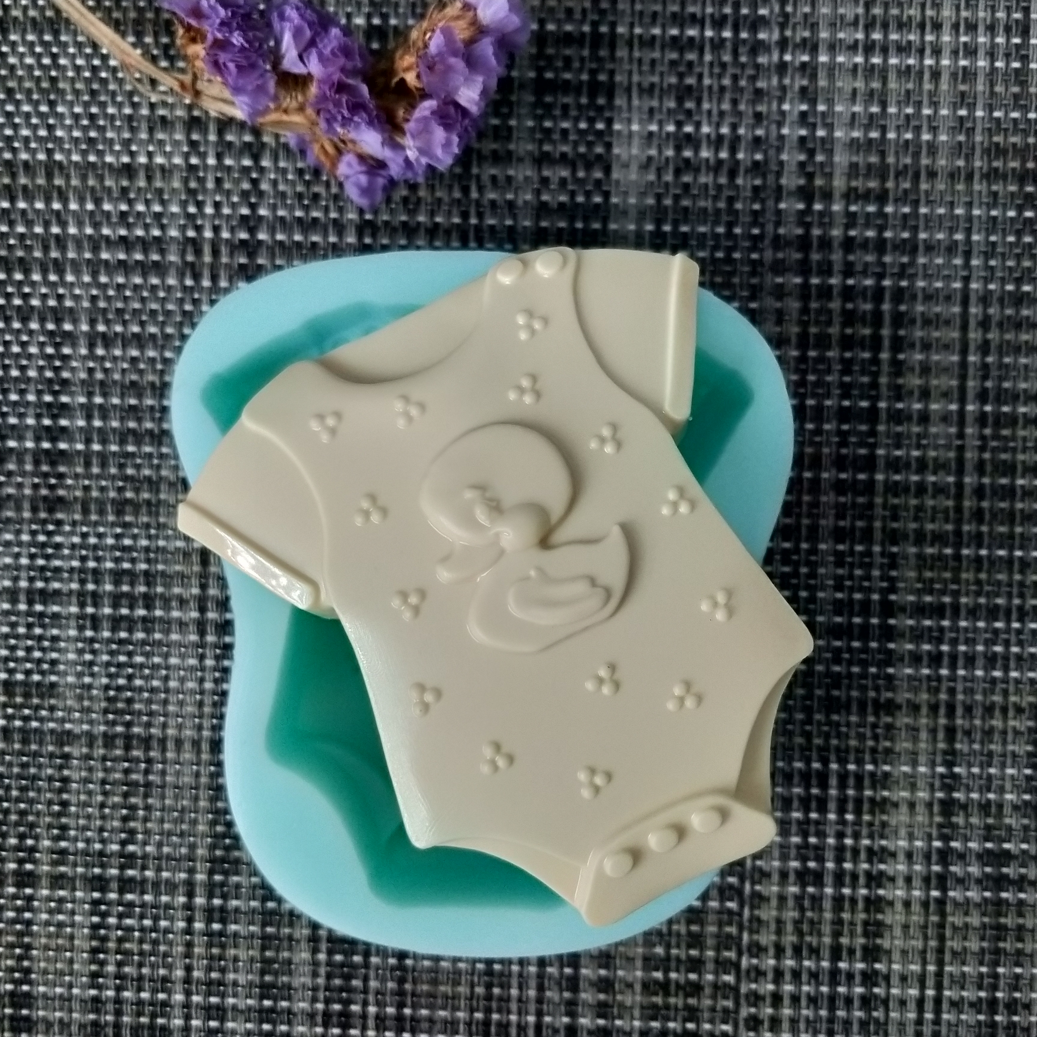 QT0149 PRZY silicone mold Baby dress soap mould handmade soap making molds candle silicone mold resin clay moulds