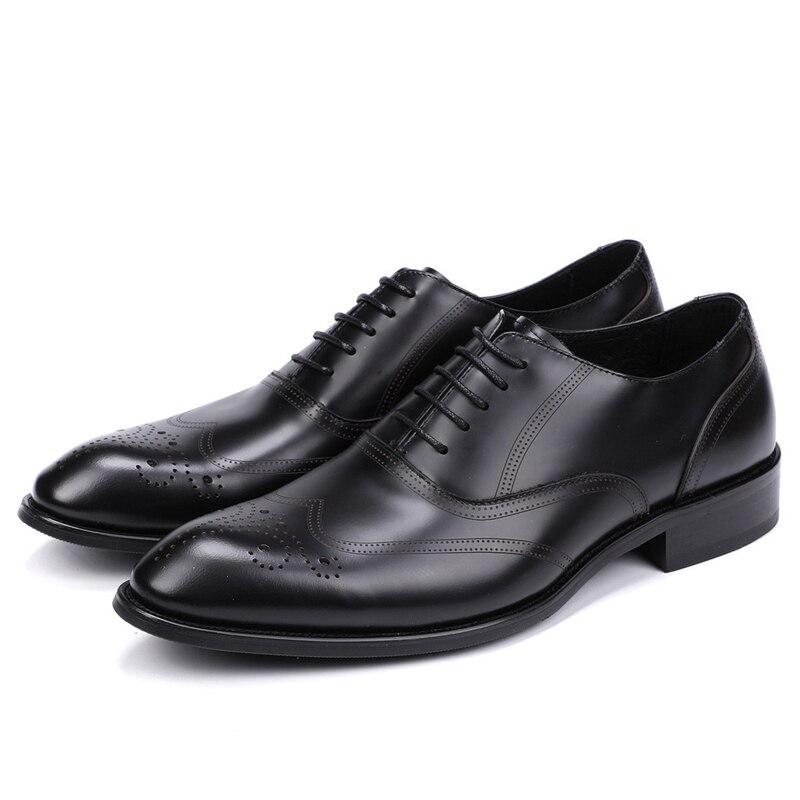 Plus Schuhe Business a0079 Echtem Formale Für Aus 44 Js Oxford 37 Mann Schuh Männer Hochzeit Kleid Wohnungen Größe Schwarzes Leder fxZwrfqXp