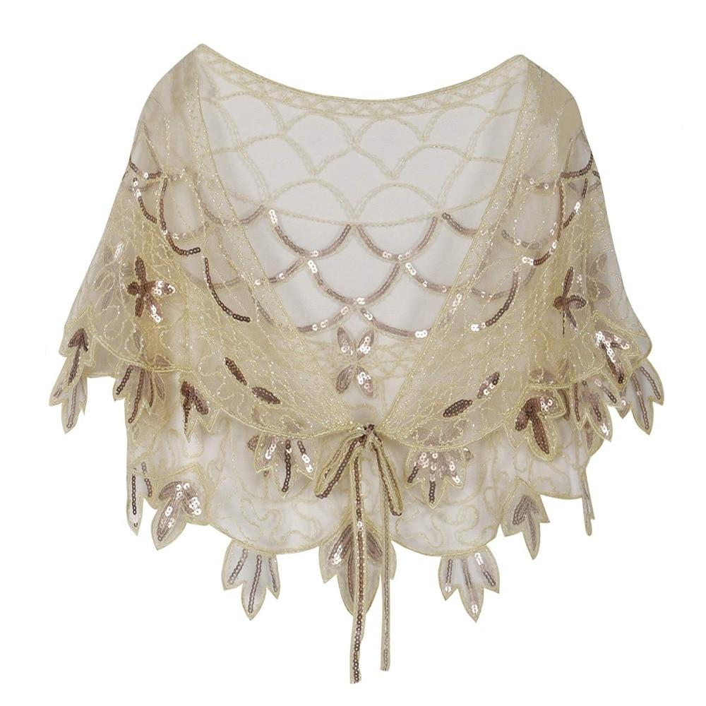 Vintage-1920s-Flapper-Shawl-beige