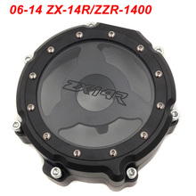 купить For 06-14 Kawasaki ZX14R ZX 14R ZZR 1400 Engine Stator Crank Case Cover Engine Guard Protection Side Shield Protector 2006-2014 по цене 2529.05 рублей