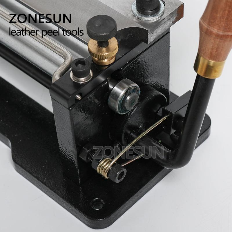 ZONESUN қолмен тері сырғанағы былғары - Өнер, қолөнер және тігін - фото 3