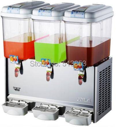 Free Shipping stainless steel panel refrigerated beverage dispenser