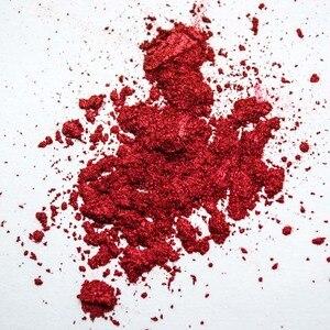 Image 3 - 1 kutu kırmızı ayna Glitter çivi tozu manikür Nail Art toz krom Pigment tırnak sanat dekorasyon aksesuarı SF3036