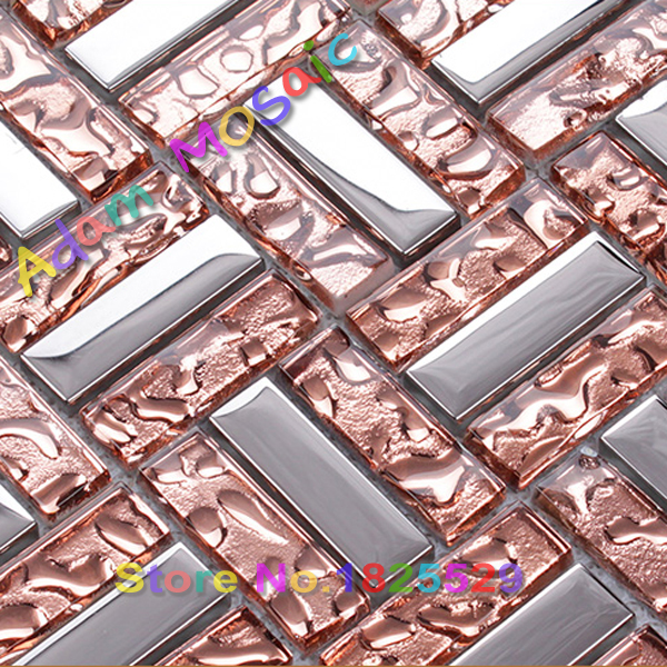 pink mosaic tile glass block bathroom wall tiles design and subway backsplashchina mainland