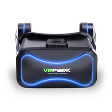 VRPARK-J30 3D virtual reality glasses double protection eye appearance atmosphere easy to operate head-mounted helmet