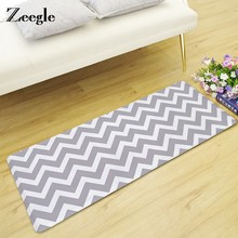Zeegle Stripe Floor Mat Carpet For Living Room Kid Bedroom Anti-slip Door Mats Indoor Sofa Table Floor Mats Bedroom Carpets(China)