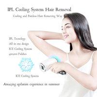 Профессиональный женский мужской безболезненный IPL лазерный эпилятор для удаления волос IPL фотон для удаления волос с лица резьбы электрич
