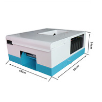 2018 NEW Inkjet Card printer Newest PVC card printing machine CD Printer DVD Disc Printer with each 10 pcs pvc card