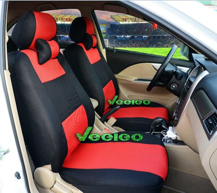 Mitsubishi Shogun 07 en frente y parte trasera de Cubierta de asiento de coche-Tejido Azul