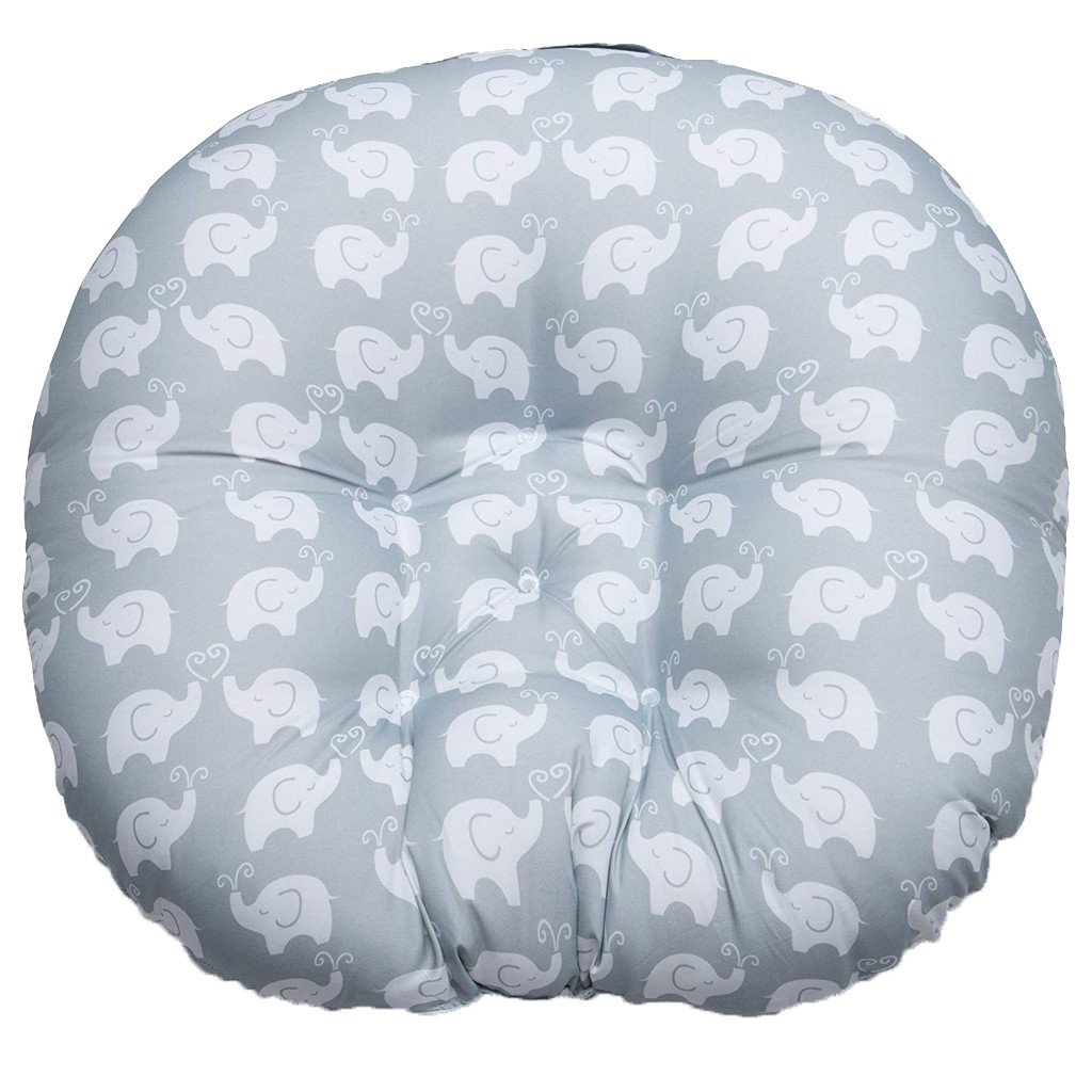 Newborn Baby Lounger Portable Soft Chair Elephant Sofa Support