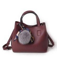 Antbook Pu Leahter Women Handbag Fashion Composite Bag Shoulder Bag Women Famous Brands Solid Messenger Bag