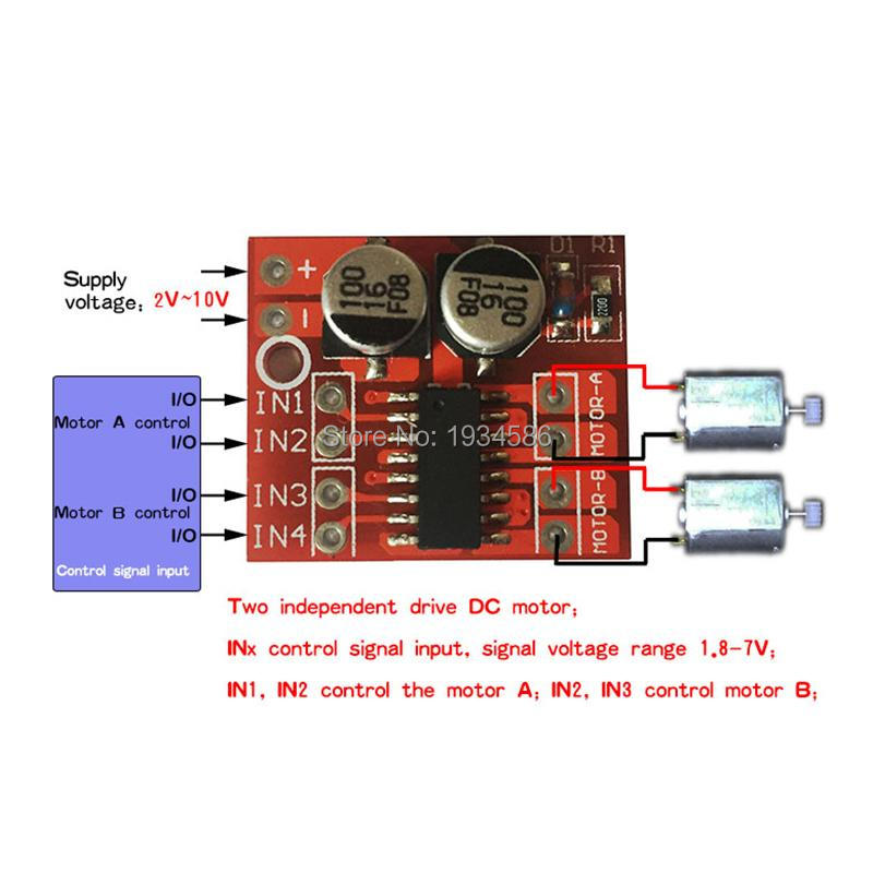 15A Dual Channel DC Motor Driver Module Circuit PWM Speed Control