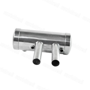 Image 3 - EME 40 80CC Rear Exhaust Pipe Muffler Set For Fixed Wing Gasoline Engine Parts