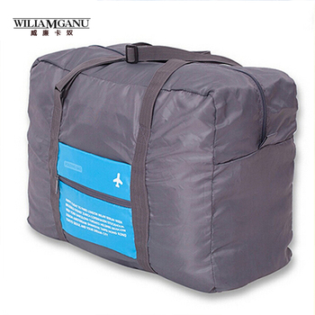 WILIAMGANU Fashion WaterProof Travel Bag Large Capacity Bag Women nylon Folding Bag Unisex Luggage Travel Handbags Free Shipping