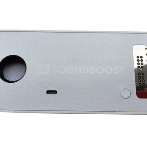 Image 4 - SoundBoost dla motorola moto Z4 Z3 zagraj w Z2 Force Droid Z odtwarzaniem telefonu adsorpcja magnetyczna moto mods głośnik shell
