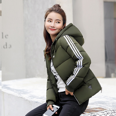 2019 Winter Jacket Women Cotton Short Jackets New Cotton Padded Hooded Warm Parkas Autumn Loose Coat Female Casual Tops