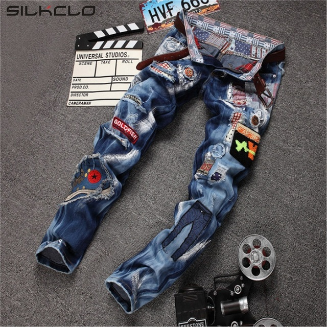 Aliexpress.com : Buy Hot Sale Ripped Jeans Men High Quality ...