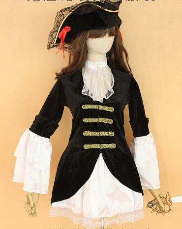 Noël Costume De Caraïbes Halloween Femme Dentelle Pirates Des sdrChQtxBo
