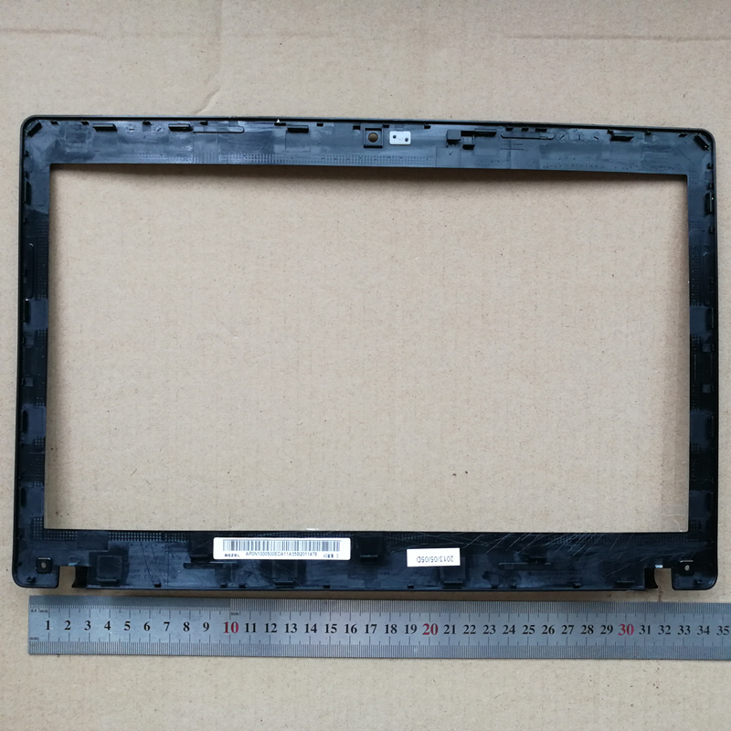 New laptop Lcd Front Bezel Cover screen frame for <font><b>lenovo</b></font> <font><b>G480</b></font> G485 AP0N1000500 60.4SG29.021 thick screen image