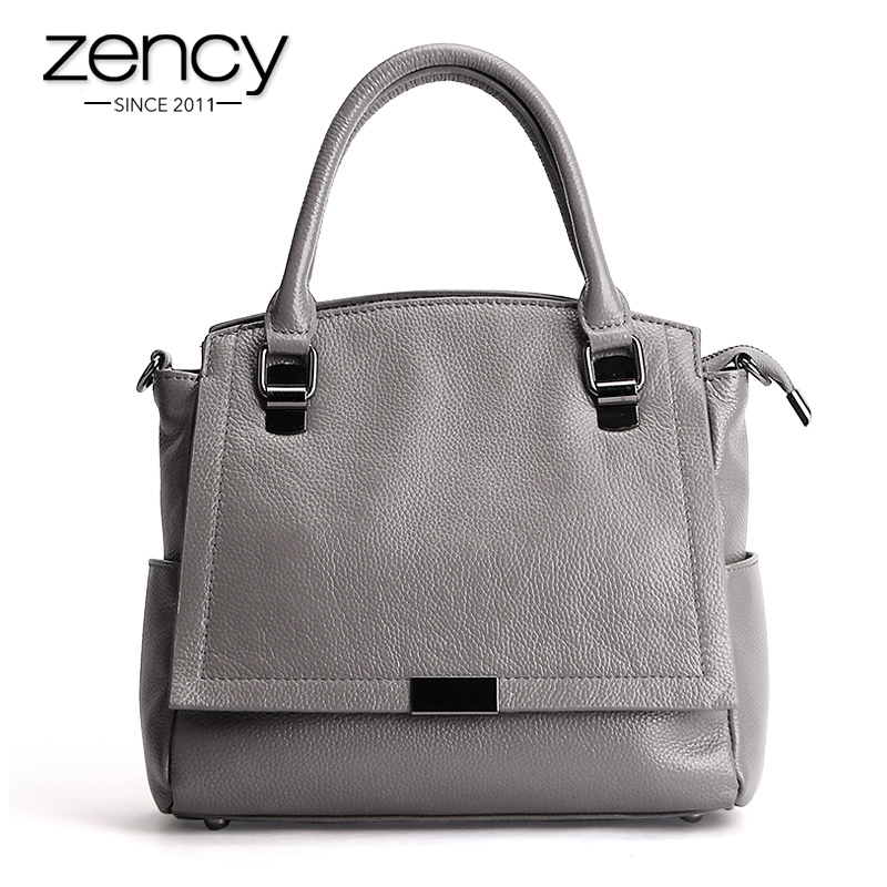 Zency 100% Genuine Leather Women Handbag Fashion Tote Bag Ladies Shoulder Purse Satchel High Quality Messenger Crossbody Bags пассатижи для электрика зубр эксперт 22667 22