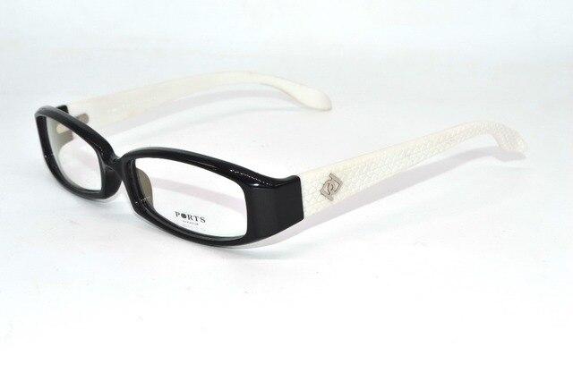 Classic black white color Handmade Optical Rim frame eyewear custom ...