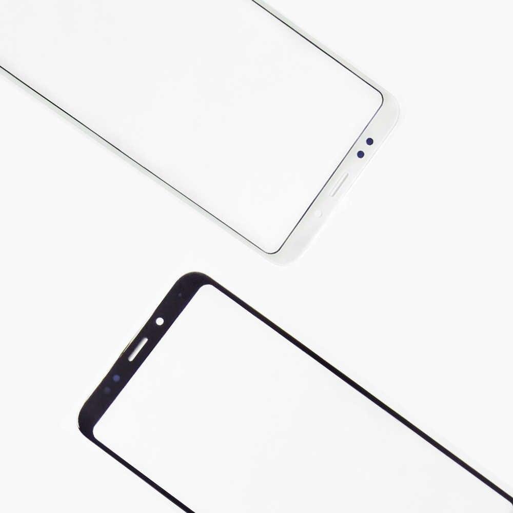 Redmi5 اللوحة الأمامية ل شاومي Redmi 5 زائد شاشة تعمل باللمس الاستشعار LCD عرض محول الأرقام غطاء زجاجي Redmi Redmi 5 زائد لمس