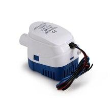 Bomba de agua de sentina automática 12V 750GPH/1100GPH para bomba de Auto sumergible con interruptor de flotador cebo marino tanque de peces
