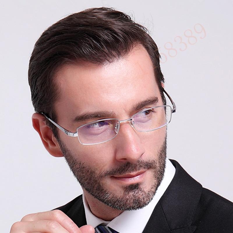Ren titanium glasögonramar män optiska glasögon ram märke - Kläder tillbehör - Foto 4