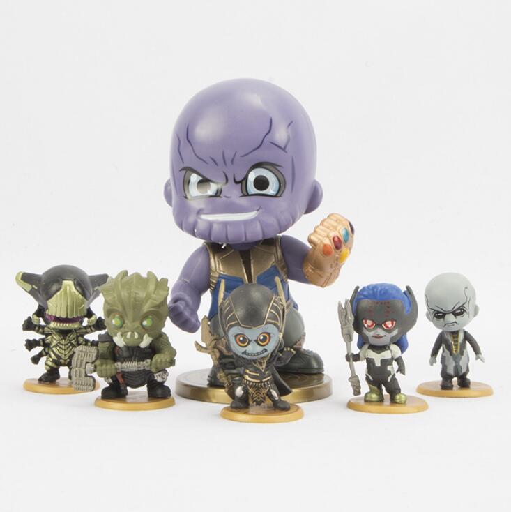 The Avengers 3: Infinity War Super Hero Character Keychain Vinyl Action & Toy Figures for Children gift