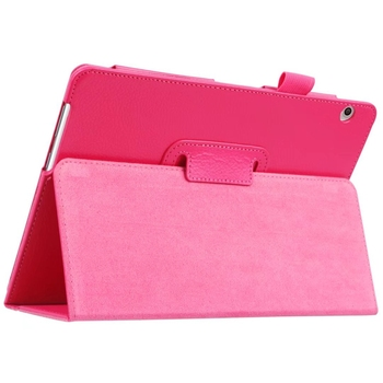 100pcs PU Leather Case Cover for Huawei MediaPad T3 10 AGS-L09 AGS-L03 9.6 inch Honor Play Pad 2 Tablet + Clear Screen Protector
