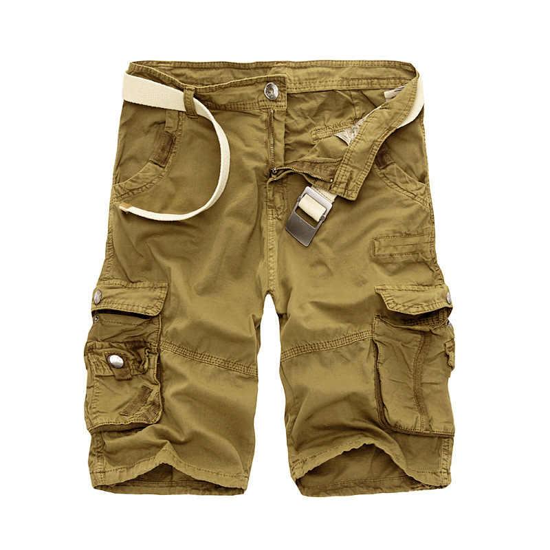 Sommer männer Camo Cargo-Shorts Baumwolle Military Camouflage Männlichen Jogger Board Shorts Männer Marke Kleidung, 6603