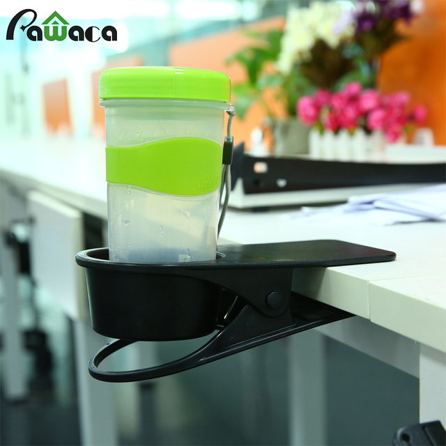 Peachy Us 9 5 Plastic Home Office Desk Cup Clip Holder Table Drink Coffee Mug Holder Storage Clip Racks Shelf Organizer Stand Free Shipping In Storage Download Free Architecture Designs Rallybritishbridgeorg
