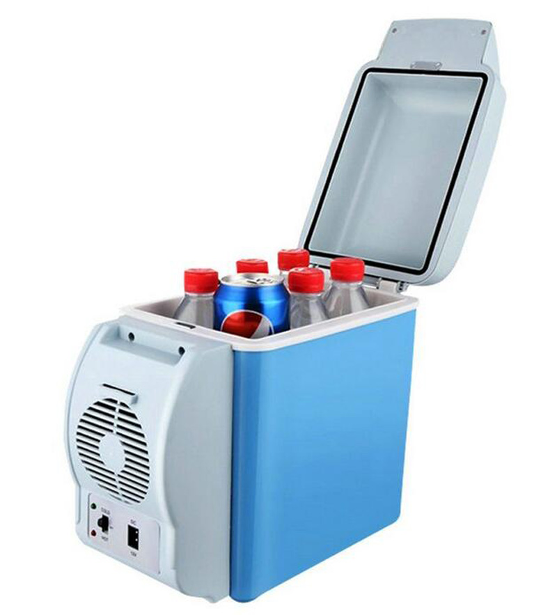 7 5l 12v Mini Portable Fridge Drink Cooler Food Warmer