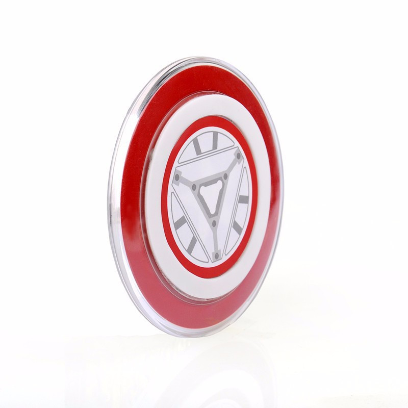 Avengers Iron Man Limited Edition Qi Wireless Charger Charging Pad for iPhone X 8 for GALAXY S9 S8 S6 S6 edge G9200 G920f