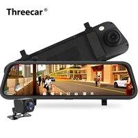 9.3 inch Rear View Mirror Car DVR HD 1080P Recorder Dual Lens Dash Cam G sensor Auto Registrar Car Camera