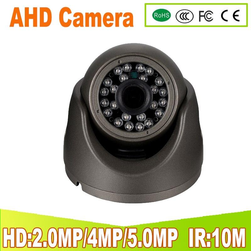 Plastic Mini IR Dome Camera 24pcs LED Board Video Security Camera Indoor CCTV AHD 720P 1080P 4MP 5MP AHD camera 3.6MM len IR-CUT